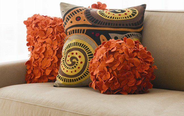 декоративные подушки своими руками фото