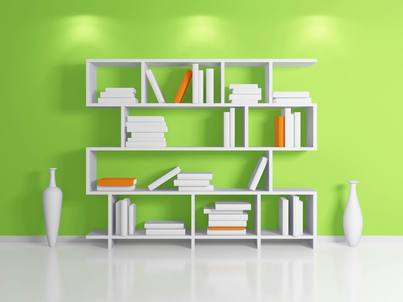 Фото дизайн полки для книг