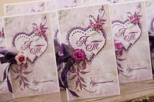 Приглашения на свадьбу своими руками: идеи и мастер-классы с