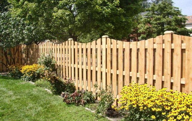 Забор штакетник деревянный своими руками