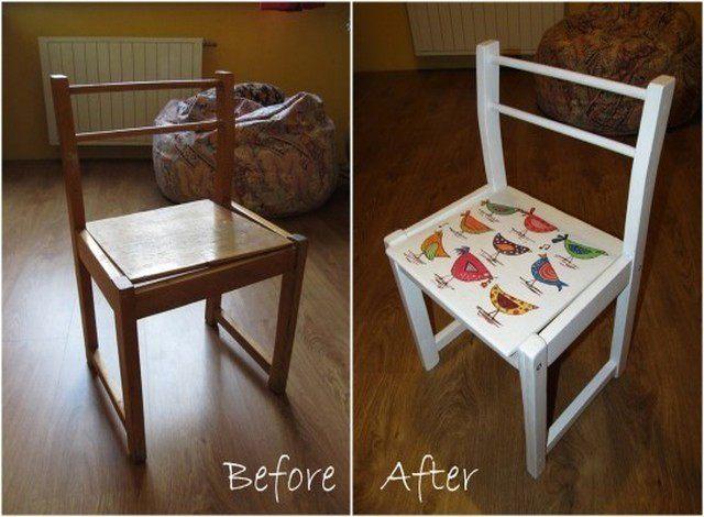 Старый стул своими руками