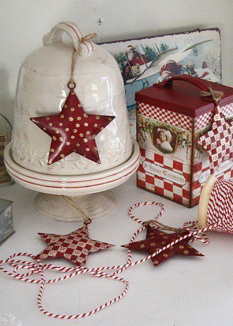 Декоративные открытки к рождеству своими руками