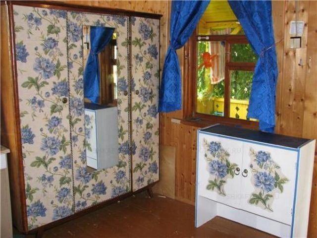 Обновление мебели своими руками с помощью обоев