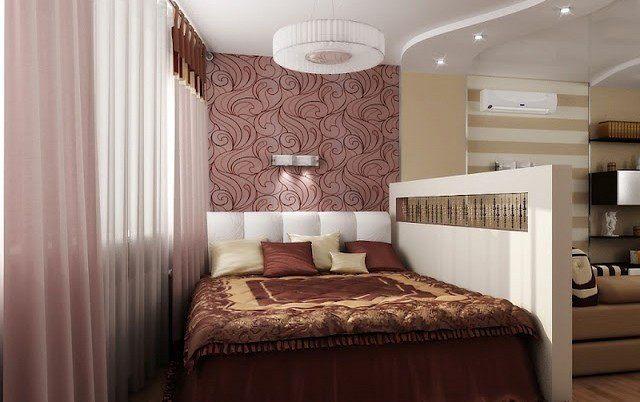 Гостиная и спальня в одной комнате своими руками