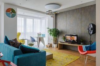 Минимализм с элементами скандинавского стиля в квартире в ЖК «Променад» в Минске