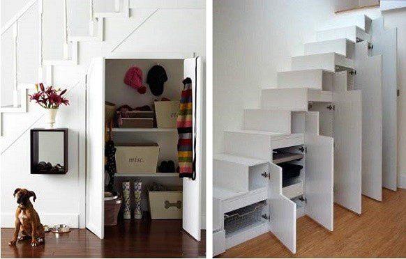 Как сделать своими руками шкаф под лестницей своими руками