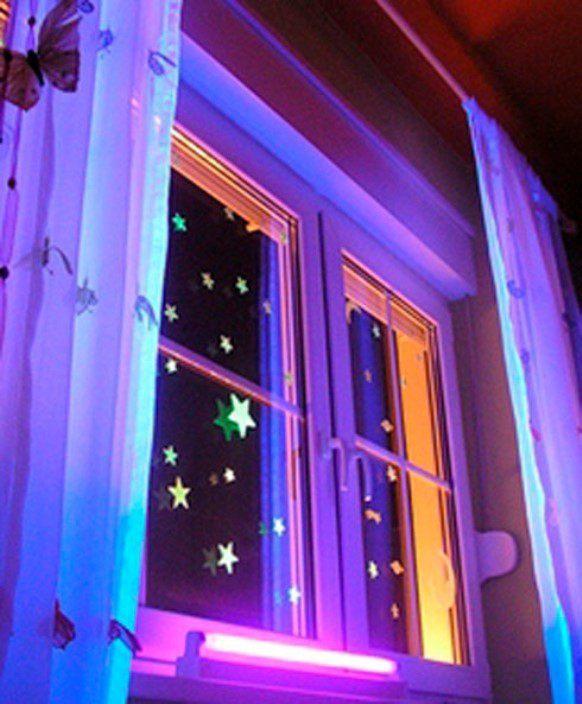 Как сделать подсветку для окна