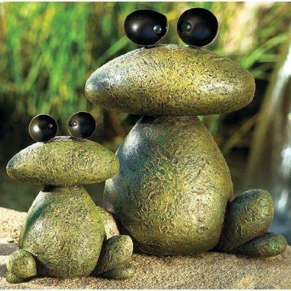 Садовые фигуры из камней