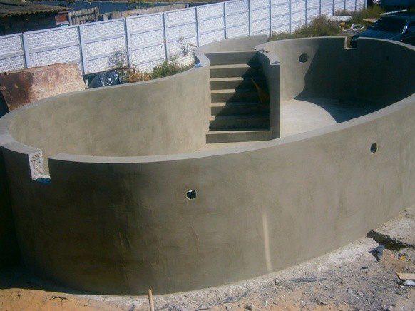 Как сделать правильный бассейн из бетона