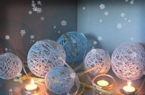 Как украсить комнату на новый год своими руками поэтапно