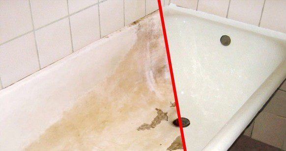 Как покрыть эмалью ванну