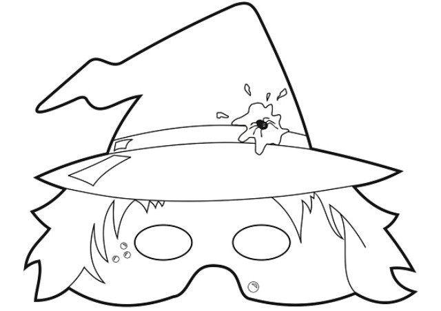 Маски на хэллоуин своими руками в домашних условиях