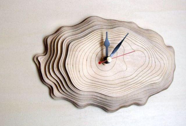 Оригинальные часы своими руками
