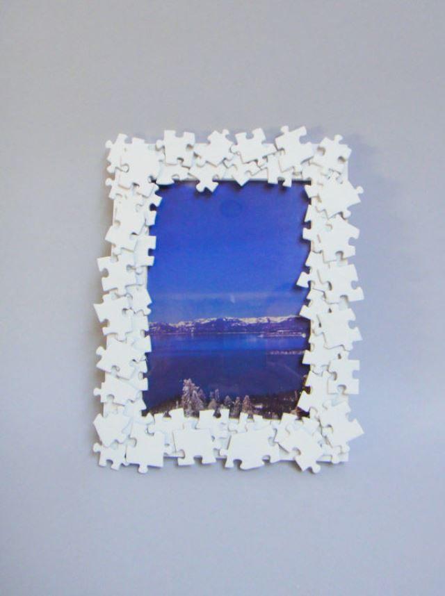 Картины из пазлов своими руками в домашних условиях
