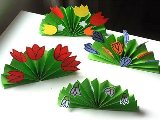 Букет цветов из бумаги своими руками с фото