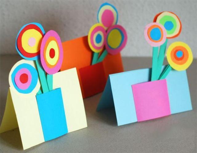 Открытки для детей своими руками днем рождения