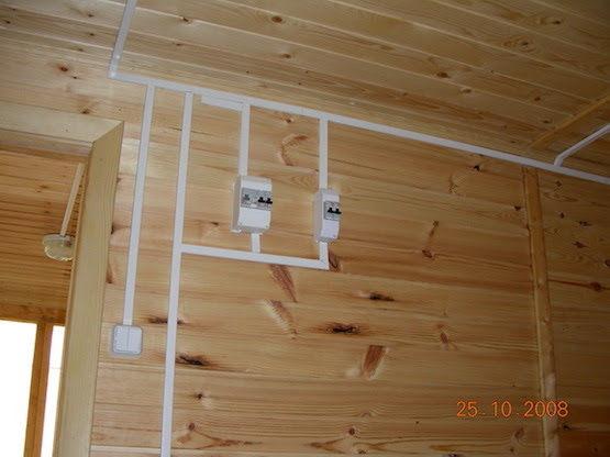 Электропроводка в деревянной бани своими руками пошаговая