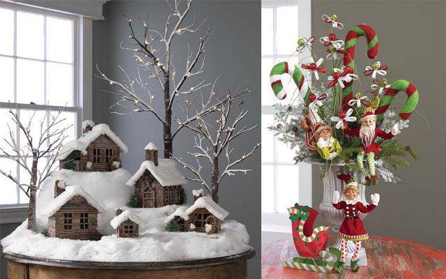 Как украсить квартиру в год Петуха Декор дома на Новый год 2017 - идеи