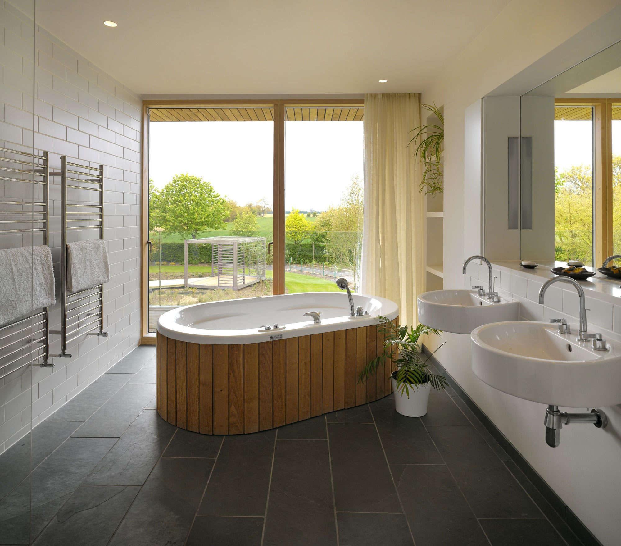 Фото дизайна ванных комнат 2008