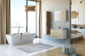 Скидка 20% на мебель для ванной Aqwella