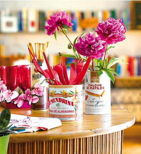 декор своими руками вазы