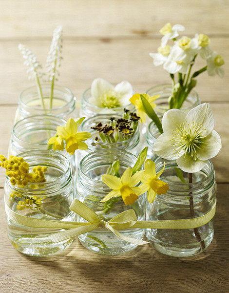 декор стеклянной вазы своими руками при помощи ракушек