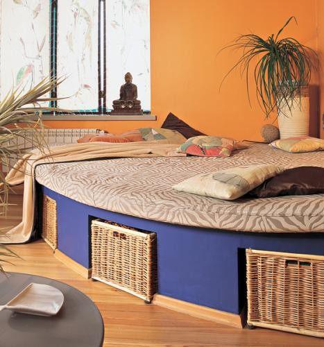 как сделать двуспальную кровать