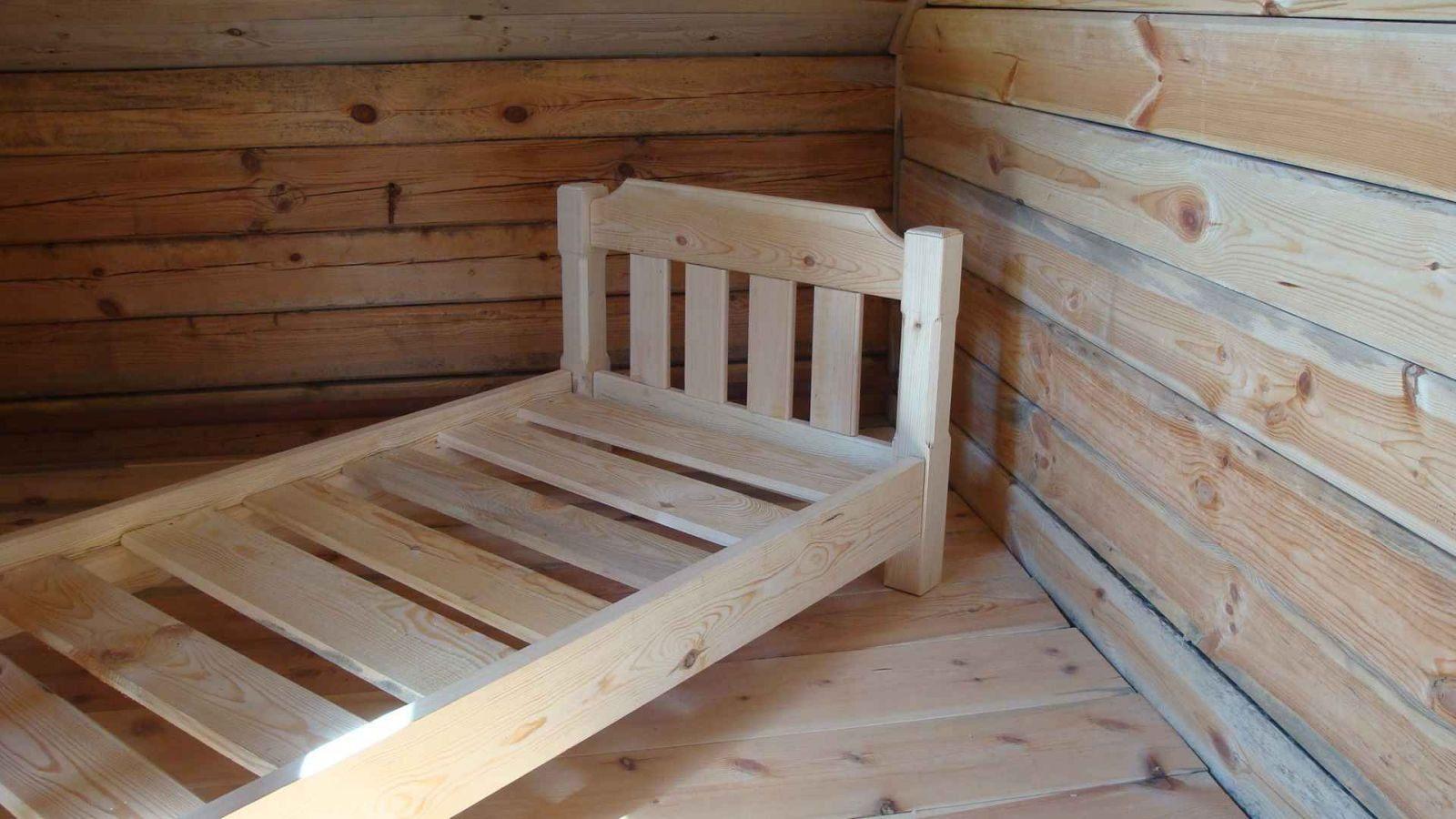 Как сделать кровать из фанеры фото 706