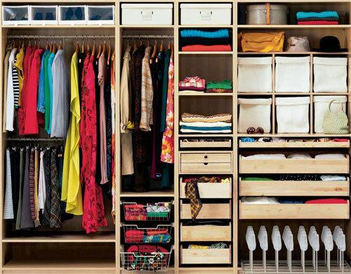 маленькие гардеробные комнаты своими руками