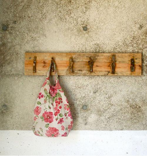 вешалка для сумок своими руками