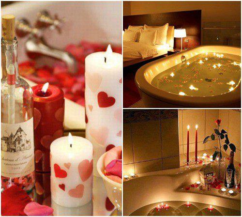 как создать романтическую обстановку дома