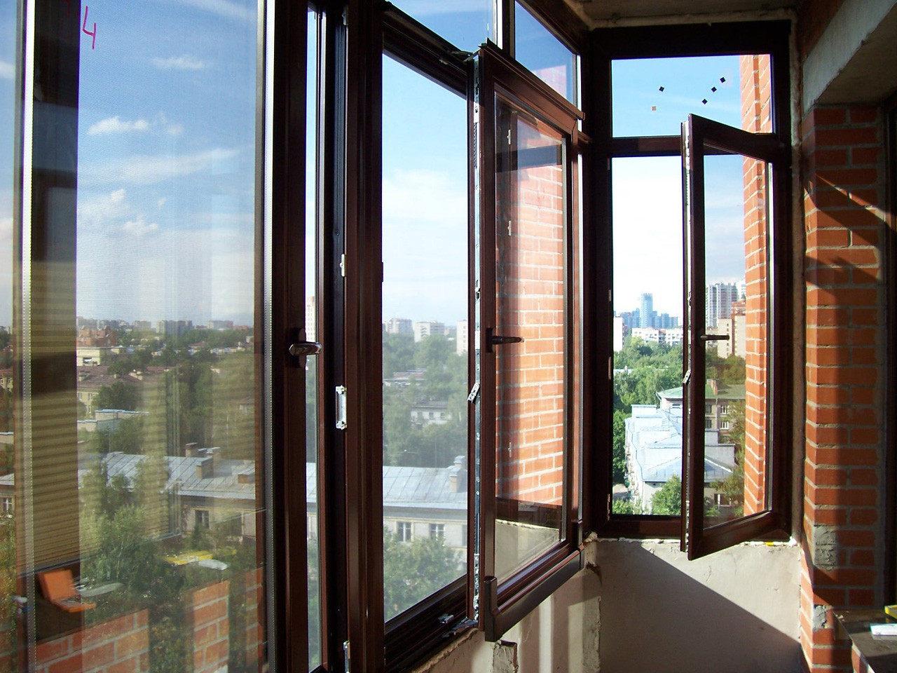 Балконные рамы из аллюминия - достоинства и недостатки как р.