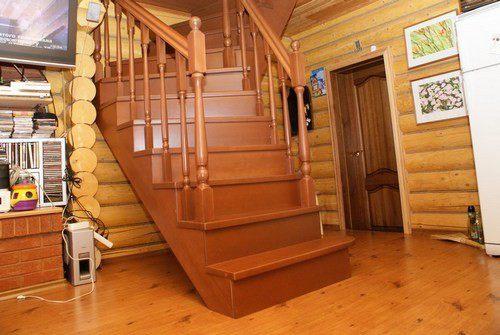 Лестницы на второй этаж частного дома 200 фото Лестницы
