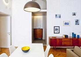 Скандинавский стиль в миланской квартире
