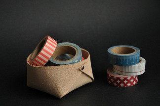 Выходные с пользой: делаем  корзину из кожи своими руками