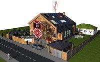 Как строится первый в Беларуси мультикомфортный дом