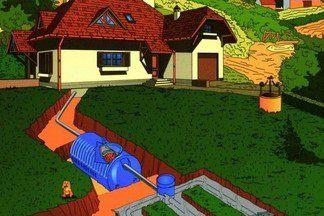 Устройство канализации на даче: разбираем ошибки