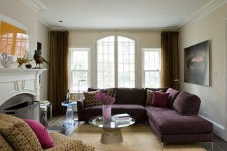 Баклажановый интерьер в вашем доме: погружаемся в цвет