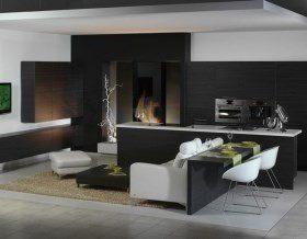 Кухня + гостиная: 7 вариантов интерьера