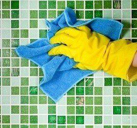 Как отмыть керамическую плитку: инструкция