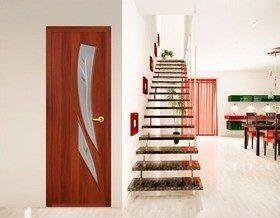Как выбрать двери из экошпона?