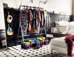 Мы спросили: Где вы храните вещи, если у вас нет шкафа-купе?