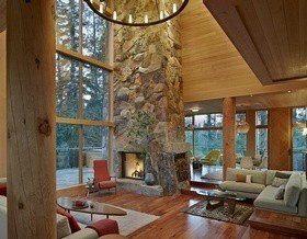 Деревянный дворец в Калифорнии