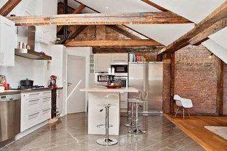 Дизайн кухни в стиле лофт: тренд последних лет