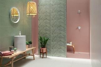 Семь «мятных» коллекций керамической плитки в салоне «Terra Cotta»!