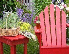 Как сделать рабатку и какие цветы посадить?