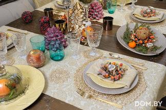 МАСТЕР-КЛАСС: Сервируем новогодний стол с дизайнером Ксенией Мицкевич в салоне мебели и предметов интерьера «ИНЛАВКА»