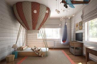 Удивительные детские комнаты для маленьких исследователей