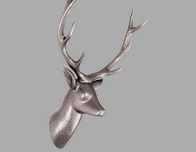 Предмет декора в форме головы животного?