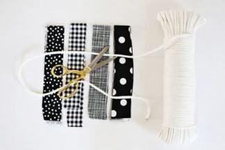 Выходные с пользой: шьем  коврик своими руками  из  лоскутков и  бельевой  веревки